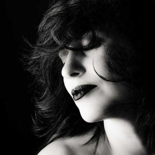 Photo shooting studio portrait femme paris